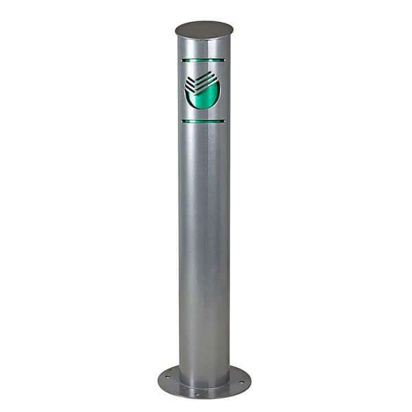 Парковочный столбик с логотипом
