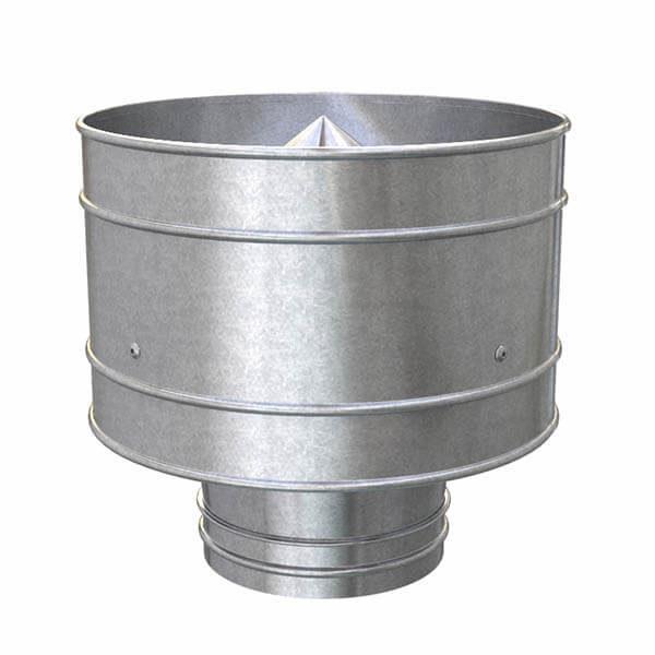 Дефлектор вентиляционный d=322 мм для вент.трубы d=315 мм, без хомута