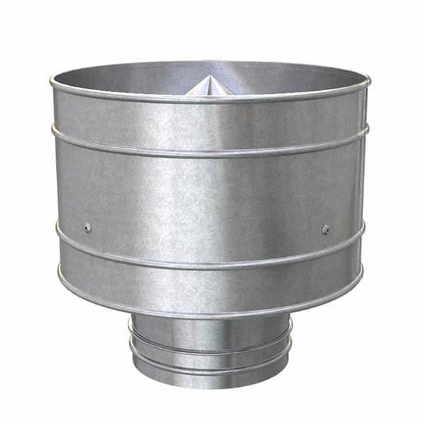 Дефлектор вентиляционный d=322 мм для вент.трубы d=315 мм, с хомутом