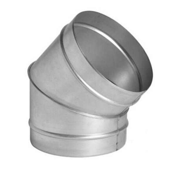 Колено (отвод/угол) 45˚, d=315 мм