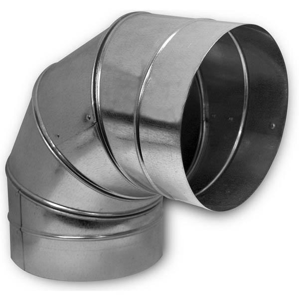 Колено (отвод/угол) 90˚, d=315 мм