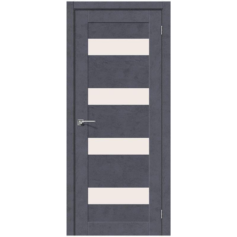 Межкомнатная дверь Легно-23, Graphite Art, Magic Fog