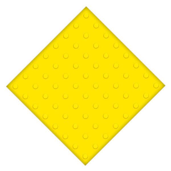 Самоклеющаяся противоскользящая тактильная плитка ПВХ 500×500 мм конусы линейные