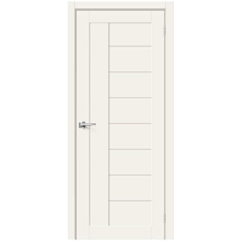 Межкомнатная дверь Браво-29, White Mix, Magic Fog