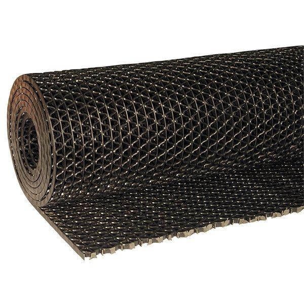 Рулонное покрытие Зигзаг 15000х1200х5 мм черный