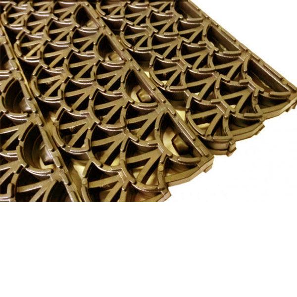 Модульное покрытие Антишпилька PRO коричневый