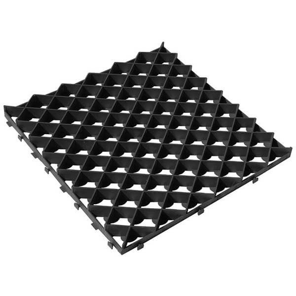 Газонная решетка (ромб) 60х60 черный