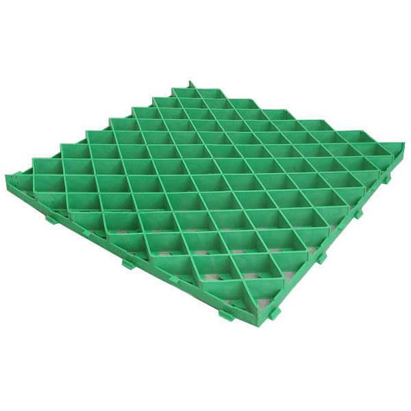 Газонная решетка (ромб) 60х60 зеленый