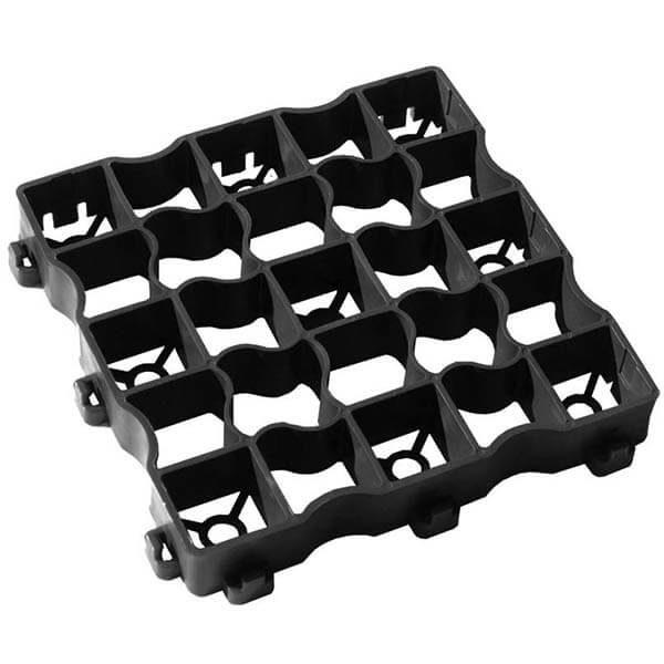 Газонная решетка (Max) 33х33 черный