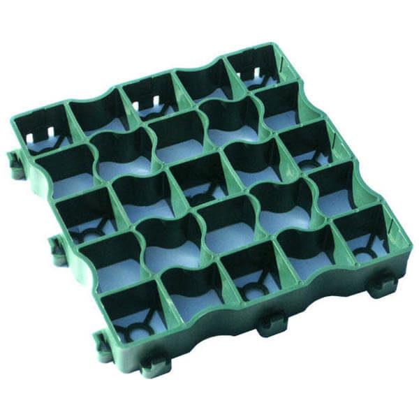 Газонная решетка (сота) 33х54 зеленый