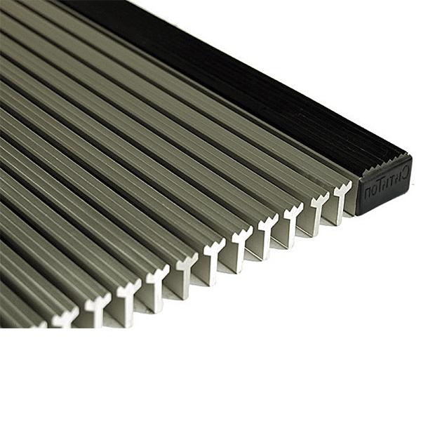 Придверная грязезащитная стальная решетка Титан С