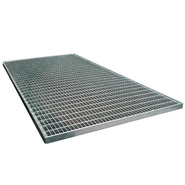 Придверная грязезащитная стальная решетка 900х1000х30 мм