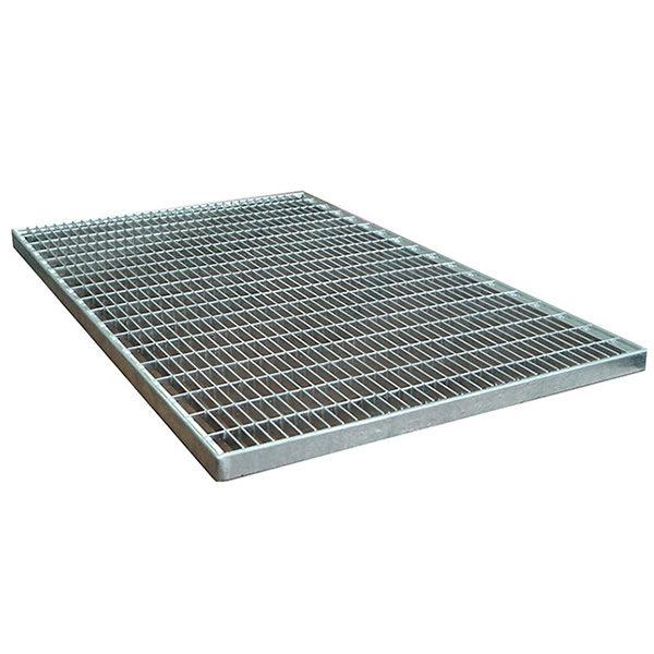 Придверная грязезащитная стальная решетка 1000х700х30 мм