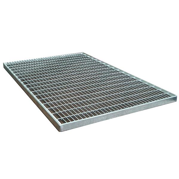 Придверная грязезащитная стальная решетка 600х1000х30 мм