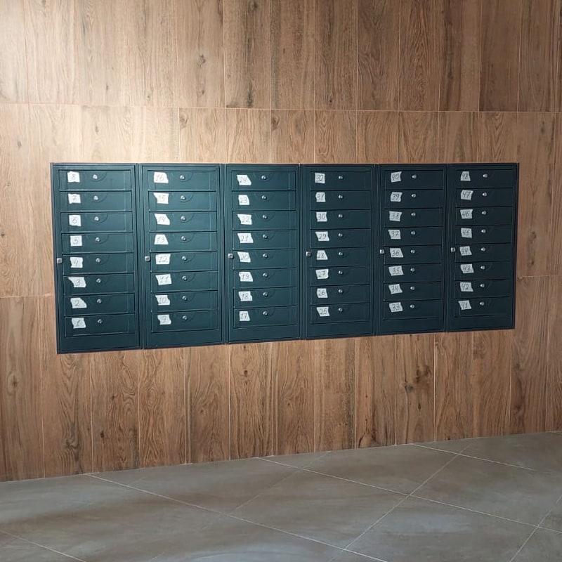 Почтовый ящик в подъезд ПЯ-8АВ секционный