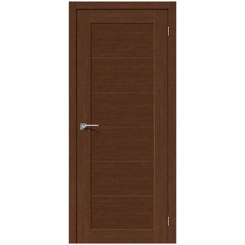 Межкомнатная дверь Легно-21, Brown Oak