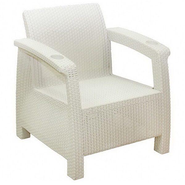 Кресло Tweet белый