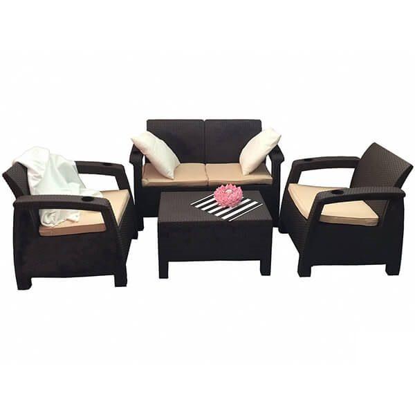 Комплект уличной мебели Tweet Terrace Set венге