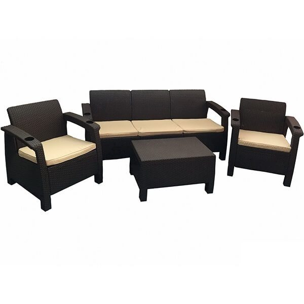 Комплект уличной мебели Tweet Terrace Set Max венге