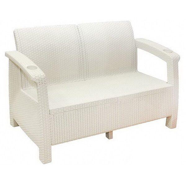 Двухместный диван Tweet Sofa 2 Seat белый