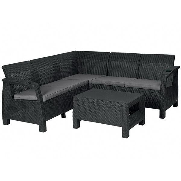 Угловой диван Tweet Corner Set венге