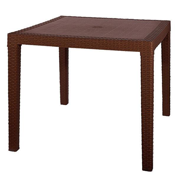 Стол обеденный квадратный FIJI Quatro Table венге