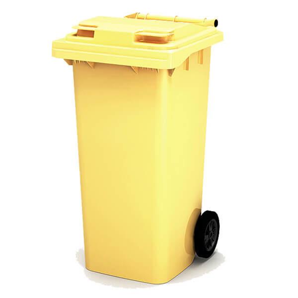Контейнер для мусора 120 л с крышкой
