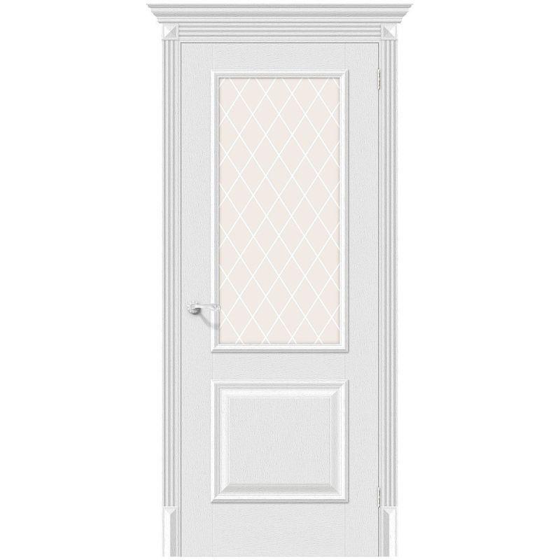Межкомнатная дверь Классико-13, Virgin, White Сrystal