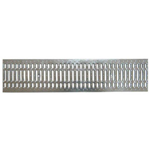 Решетка водоприемная Standart 200 стальная штампованная (оцинкованная)