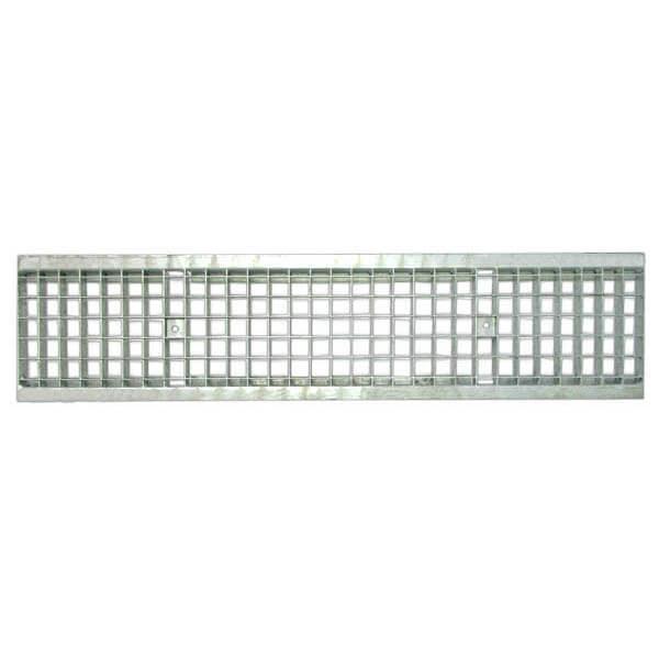 Решетка водоприемная Standart 200 ячеистая стальная (оцинкованная)