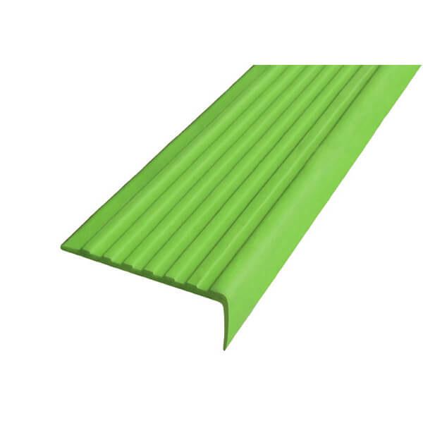 Самоклеющийся угол против скольжения 55 мм зеленый