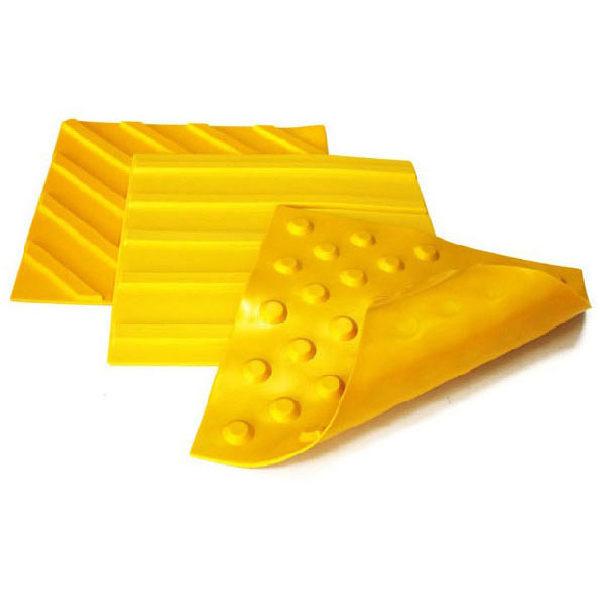 Самоклеющаяся противоскользящая тактильная плитка полиуретан 30x30