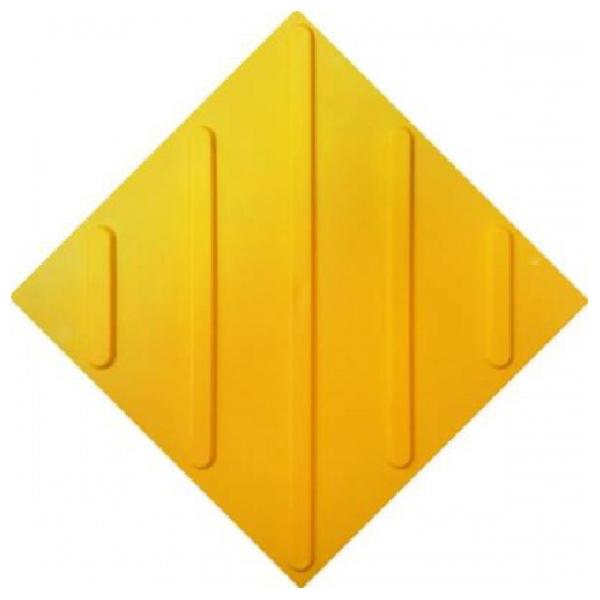 Тактильная противоскользящая плитка полиуретан 30x30