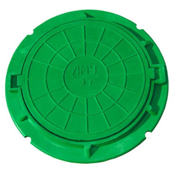 Люк канализационный полимеркомпозитный тип ЛМУ (до 3 т)