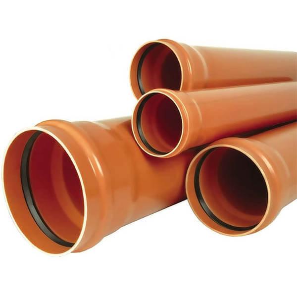 Канализационная труба Nashorn наружная 110x1000x3,2