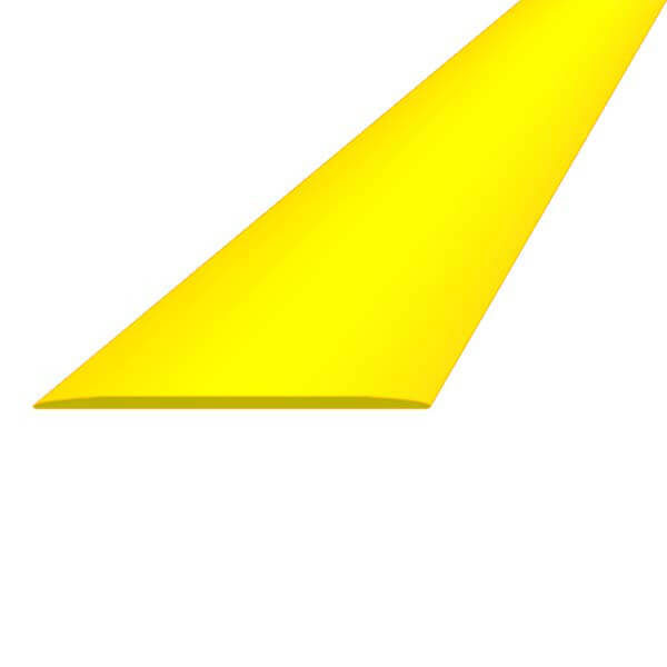 ПВХ лента для разметки 50мм х 25м желтая