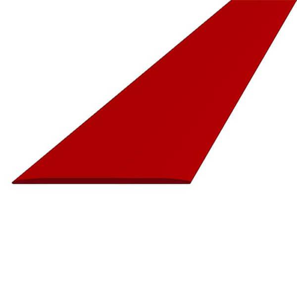 ПВХ лента для разметки 50мм х 25м красная