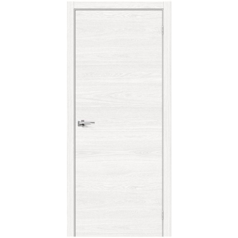 Межкомнатная дверь Браво-0, White Skyline