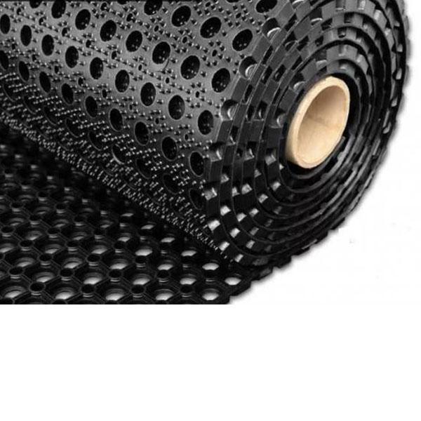 Грезезащитный резиновый коврик Компос 10000×1000х16 мм черный