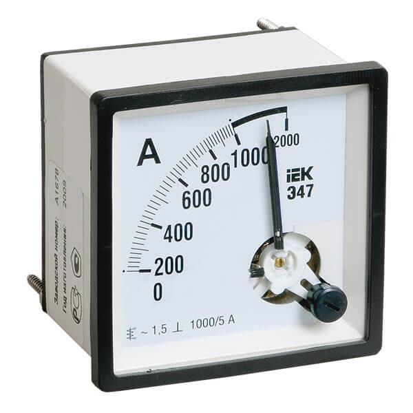 Амперметр IEK Э47 аналоговый