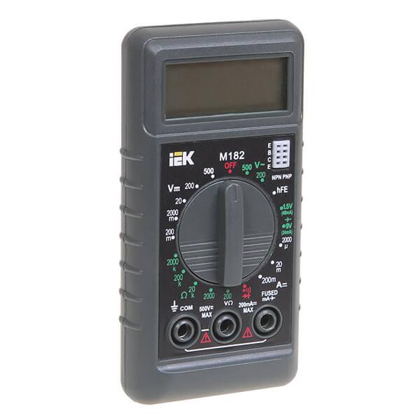 Мультиметр IEK Compact M182 цифровой