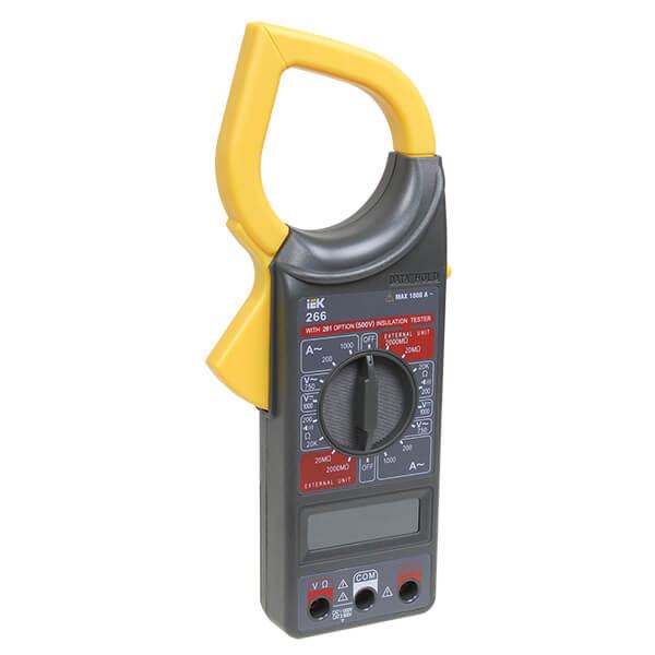 Мультиметр IEK Expert 266 токоизмерительные клещи