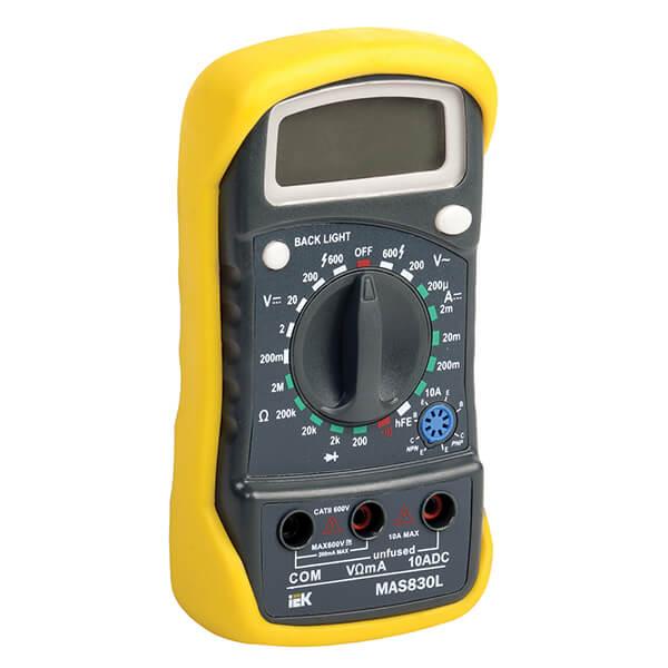 Мультиметр IEK Master MAS830L цифровой