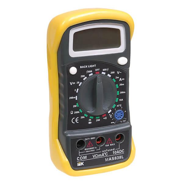 Мультиметр IEK Master MAS838L цифровой