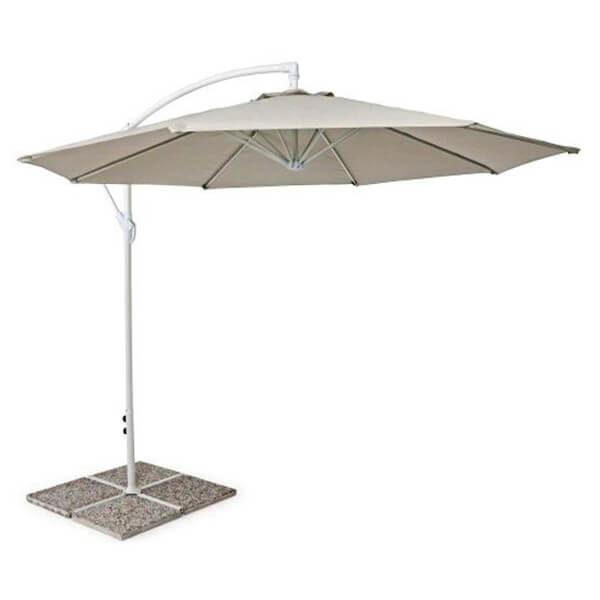 Зонт с боковой стойкой Парма, бежевый, 3 м