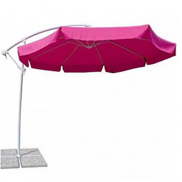 Зонт с боковой стойкой Парма, фуксия, 3 м