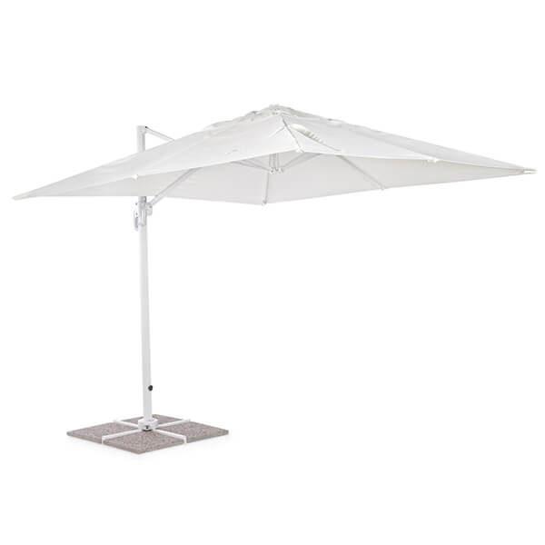 Зонт с боковой стойкой Рим, белый, 3 м