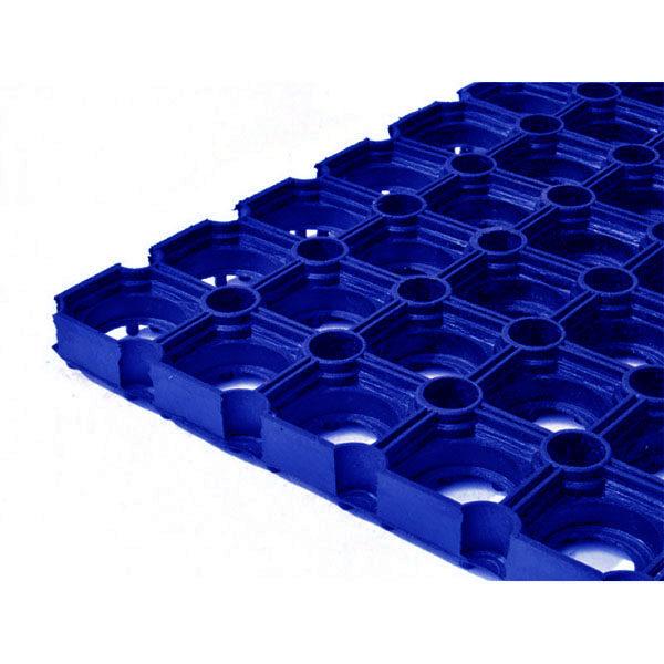 Грезезащитный резиновый коврик Компос 1200×800х16 мм синий