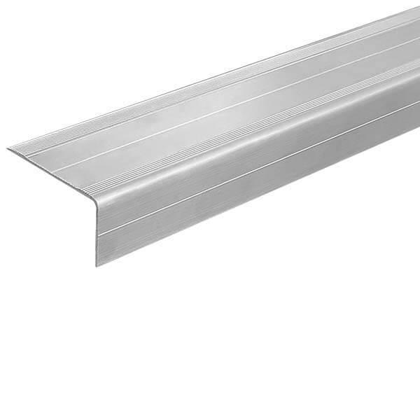 Алюминиевый угол-порог 3 м, 46 мм/25 мм под абразивную ленту 25 мм