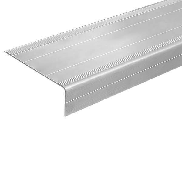 Алюминиевый угол-порог 2 м, 72 мм/25 мм под абразивную ленту 25/50 мм